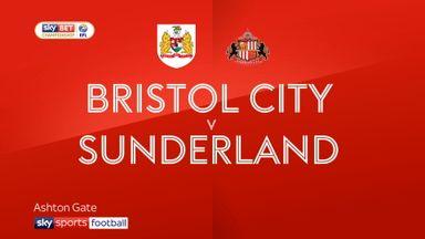 Bristol City 3-3 Sunderland