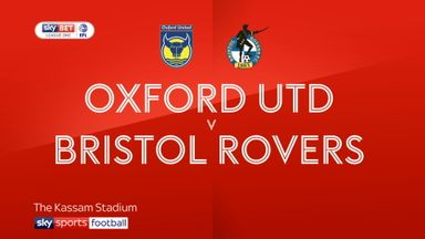 Oxford 1-2 Bristol Rovers