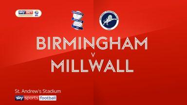Birmingham 0-1 Millwall