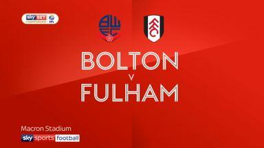 Bolton 1-1 Fulham
