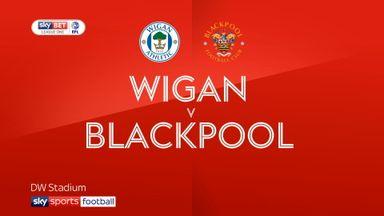 Wigan 0-2 Blackpool