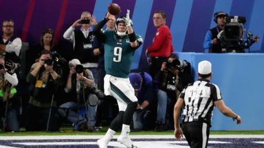 Foles' fourth-down TD reception!