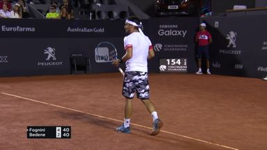 Lovely Fognini slice