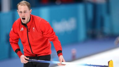 GB men's curlers beat Denmark