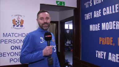 Behind the scenes with Boyd at Kilmarnock