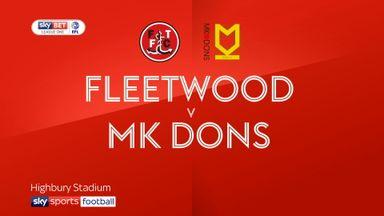 Fleetwood 1-1 MK Dons