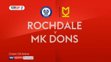 Rochdale 0-0 MK Dons