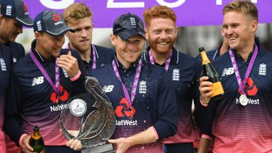 England primed for ODIs