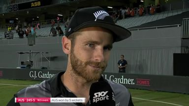 Williamson reflects on shock loss