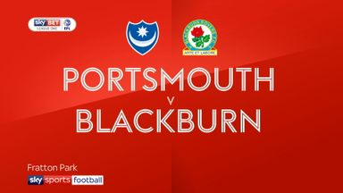 Portsmouth 1-2 Blackburn
