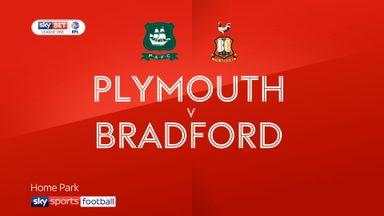 Plymouth 1-0 Bradford