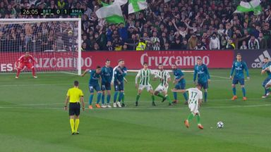 Keylor Navas' wonder save
