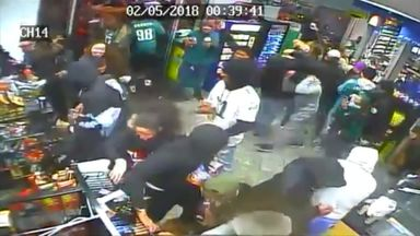 Looting after Eagles' Super Bowl win