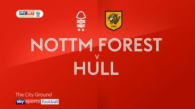 Nottingham Forest 0-2 Hull