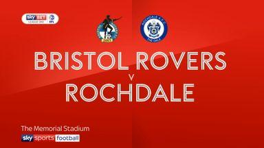 Bristol Rovers 3-2 Rochdale