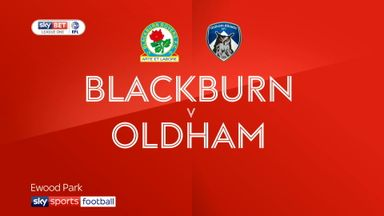 Blackburn 2-2 Oldham