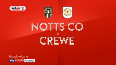 Notts County 4-1 Crewe