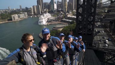 Tomkins & Downs scale Sydney Harbour Bridge