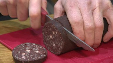 Black pudding derby