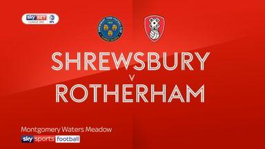 Shrewsbury 0-1 Rotherham