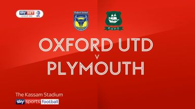 Oxford Utd 0-1 Plymouth