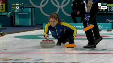 Sweden win women's curling gold