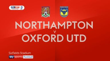 Northampton 0-0 Oxford
