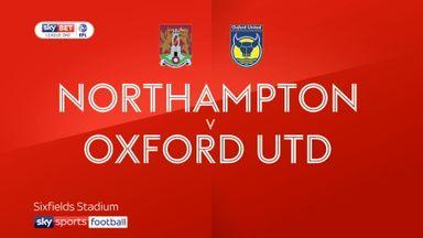 Northampton 0-0 Oxford