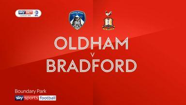 Oldham 2-1 Bradford