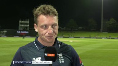 Buttler laments England fielding