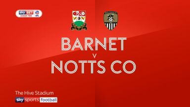 Barnet 1-0 Notts County
