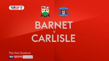 Barnet 1-3 Carlisle