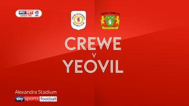 Crewe 0-0 Yeovil
