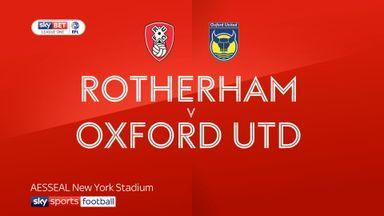 Rotherham 3-1 Oxford