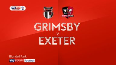 Grimsby 0-1 Exeter