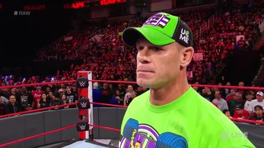Cena wants Lesnar at WrestleMania