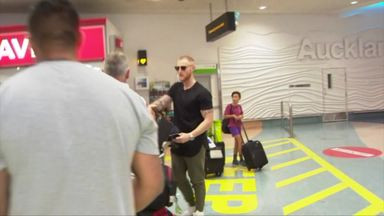 Stokes arrives in New Zealand