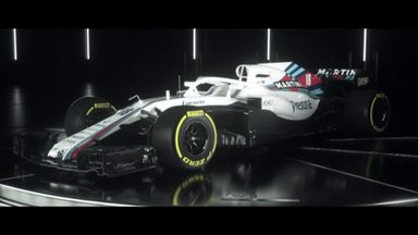 Williams' FW41 revealed