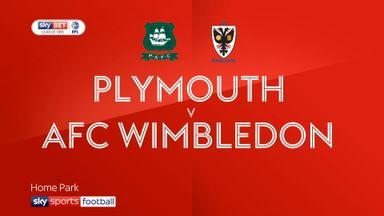 Plymouth 4-2 Wimbledon