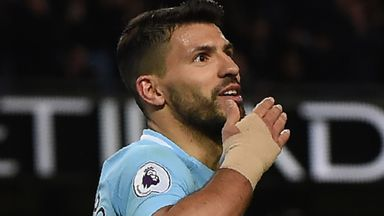 'Aguero to outscore Kane and Salah'