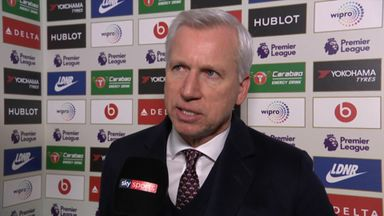 Pardew: We need to take our chances