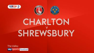Charlton 0-2 Shrewsbury