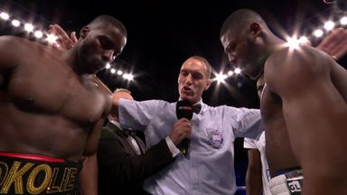 'Okolie physically too much for Chamberlain'