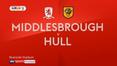 Middlesbrough 3-1 Hull