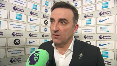 Carvalhal: Brighton deserved the win
