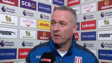 Lambert praises 'outstanding' Stoke