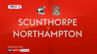 Scunthorpe 2-2 Northampton