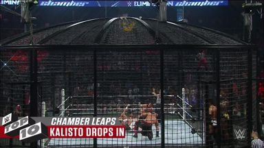 WWE Top 10: Elimination Chamber leaps