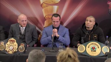 Press conference: Groves v Eubank Jr