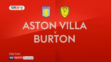 Aston Villa 3-2 Burton
